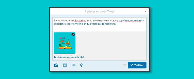 noticias twitter url e imagenes no restarán caracteres